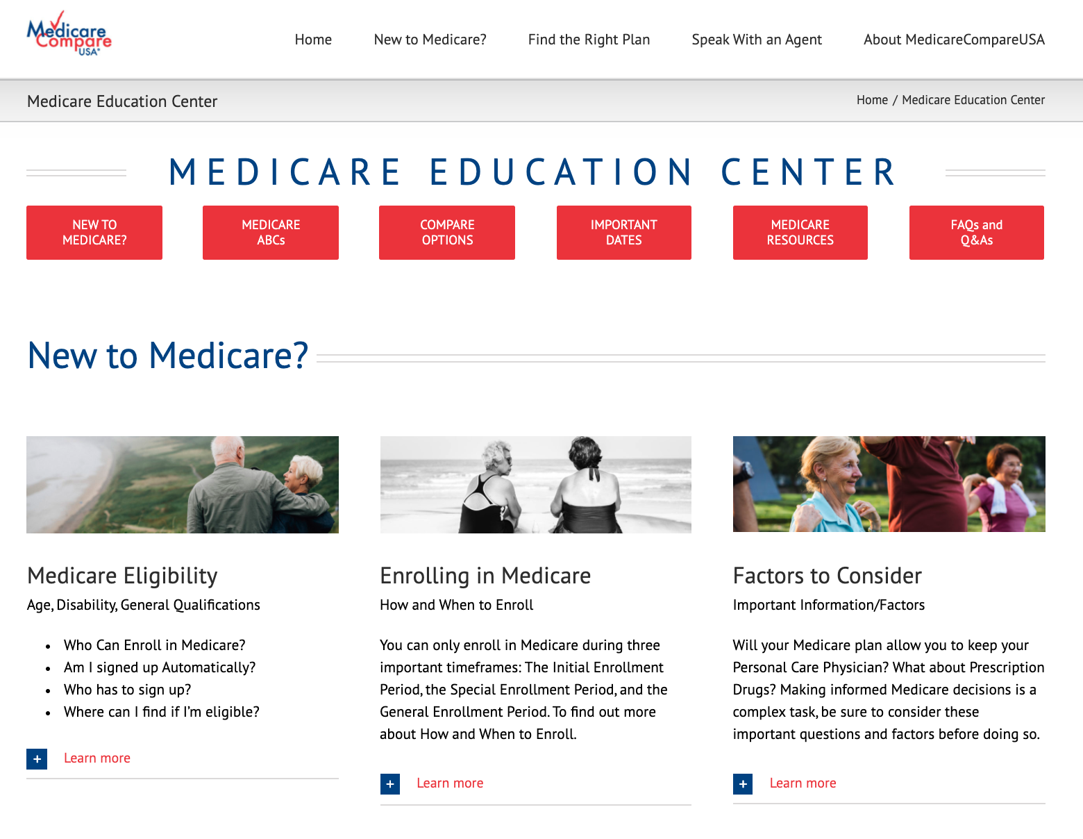 Medicare Education Center