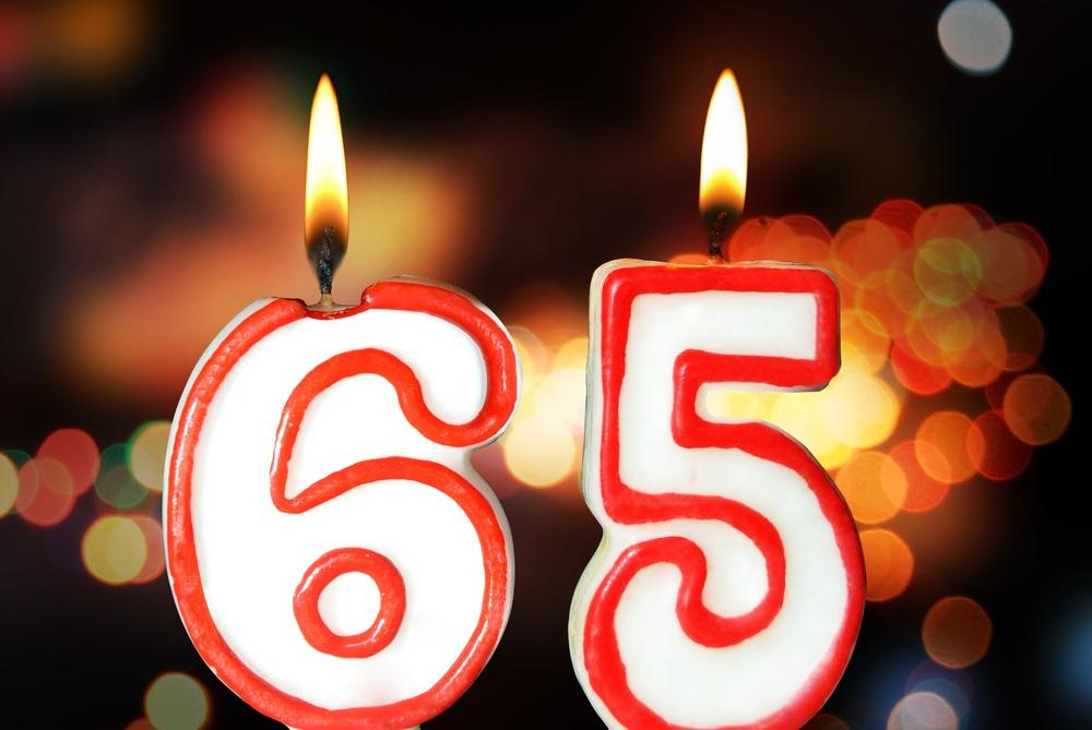 Turning 65 Candles